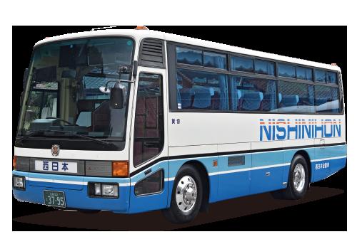 中型観光バス画像